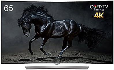LG 65V型 4K対応有機ELテレビ 曲面型 外付けHDD録画対応(裏録対応) HDR対応 OLED 65EG9600(2015年モデル)