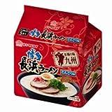 マルタイ 本場の味 九州博多長浜ラーメン(とんこつ味) 5食入パック 100g×5食×6個入