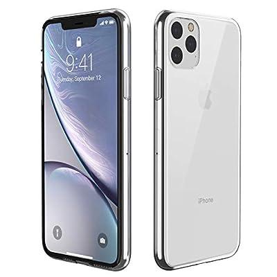 Eonfine iPhone 11 Pro Max ケース クリア 6.5インチ 耐衝撃 カバー 軽量 薄型 ワイヤレス充電対応 TPU素材 黄変防止 キズ防止 透明ケース