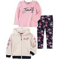 Tommy Hilfiger Girls' 3 Pieces Jacket Set