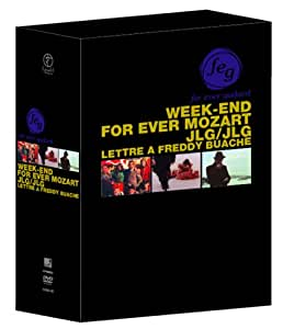 フォーエヴァー・ゴダール DVD-BOX (ウィークエンド/フォーエヴァー・モーツアルト/JLG/自画像/フレディ・ビュアシュへの手紙)