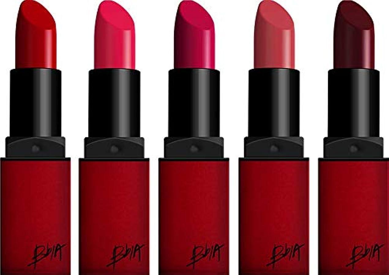 お風呂快い貫通する[セット品]BBIA(ピアー)ラストリップスティック5色セット (赤シリーズ1)