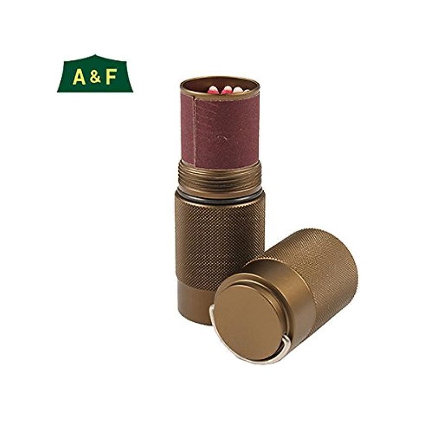 アームストロング俳句説得(エイアンドエフ) A&F 防水アルミマッチボックス OD 00800056048000