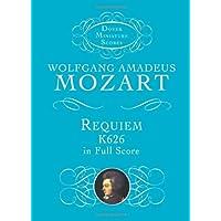 Requiem, K626, in Full Score (Dover Miniature Music Scores)
