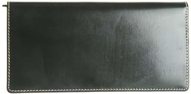 [ブリティッシュグリーン] BRITISH GREEN ブライドルレザー長札財布  63111 グリーン (グリーン)