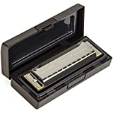 kmise Blues Harmonica French Harp Mouth Organ Phosphor Bronze 10 Hole Key of C