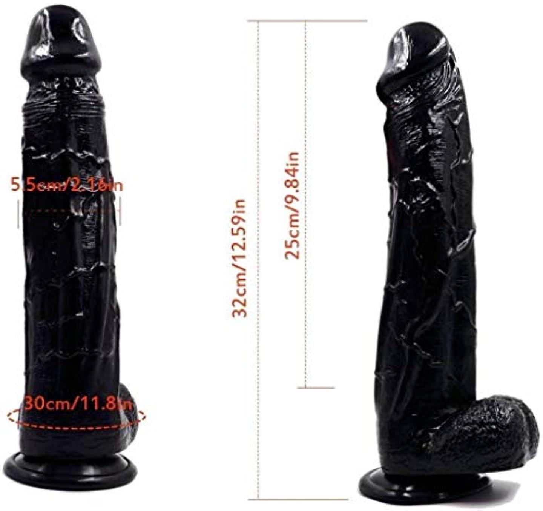 鮮やかなやりがいのある影のあるマッサージ12.99インチDillos女性のリアルなパーソナルボディーのおもちゃ