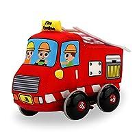 Balai 赤ちゃん布プルバック車ぶら下げおもちゃ用赤ちゃん新生児学習ウォークキッズハンドベルギフト男の子おもちゃ車両