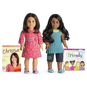 American Girl (アメリカンガール) Chrissa & Sonali Friend Collection doll set ドール 人形 フィギュア(並行輸入)