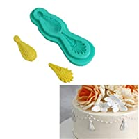 PINKING 鋳型 シリコーン製 真珠 モールド 装飾 手作り ケーキ 石鹸 樹脂 粘土 抜き型 道具