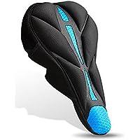 Fashionwu 自転車 サドルカバー 改良版 超肉厚 記憶スポンジ 低反発クッション 革新 縛りシステム 滑り止め強化 サドルクッション 防水 防塵