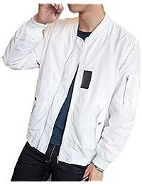 Fly Year-JP メンズカジュアルロングスリーブジップ?ファッション?ジャケット
