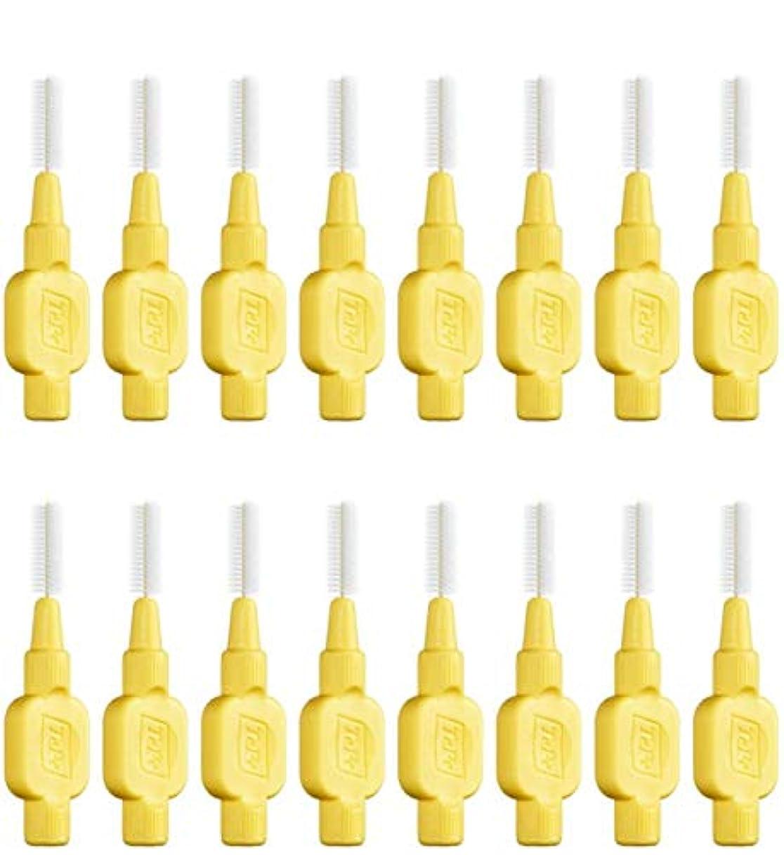 隣接する感嘆歩行者テペ 歯間ブラシ 極やわらかめ(エクストラソフト)0.7mm 8本入×2袋 (0.7)