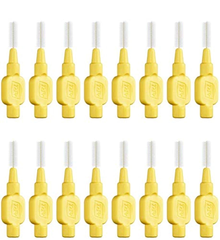 前部最小スロットテペ 歯間ブラシ 極やわらかめ(エクストラソフト)0.7mm 8本入×2袋 (0.7)