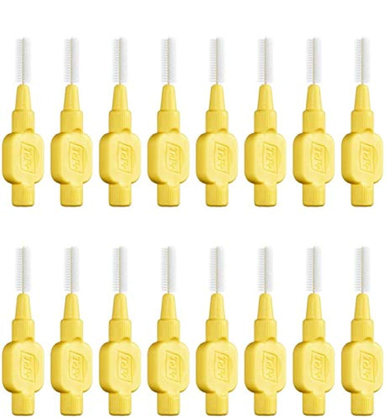 第九偽磨かれたテペ 歯間ブラシ 極やわらかめ(エクストラソフト)0.7mm 8本入×2袋 (0.7)