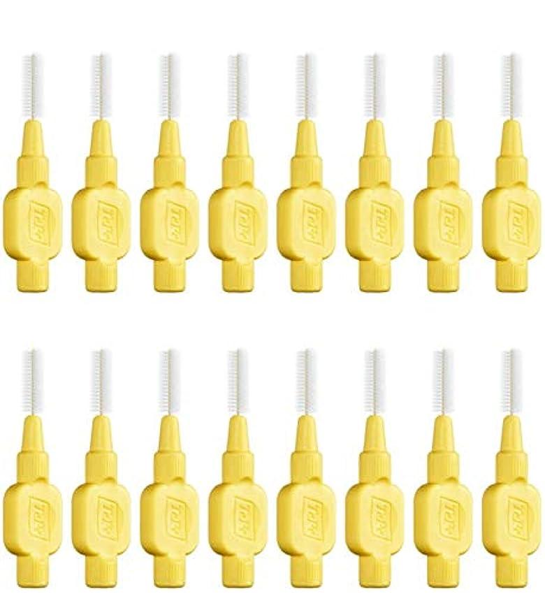 怠惰灌漑ふさわしいテペ 歯間ブラシ 極やわらかめ(エクストラソフト)0.7mm 8本入×2袋 (0.7)