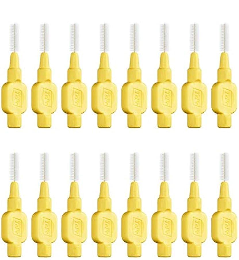 保全故障中うまくいけばテペ 歯間ブラシ 極やわらかめ(エクストラソフト)0.7mm 8本入×2袋 (0.7)