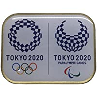 非売品 東京 2020 公式 オリンピック パラリンピック エンブレム コラボ ピンバッジ