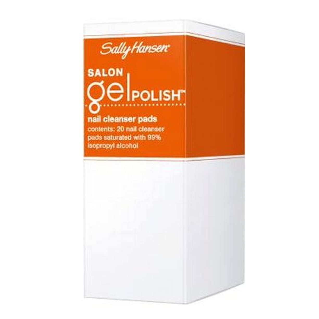 貢献する愛常習的SALLY HANSEN Salon Gel Polish Nail Cleanser Pads - Gel Polish Cleanser Pads (並行輸入品)