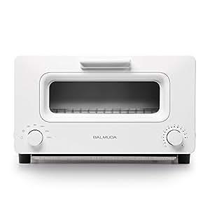 バルミューダ スチームオーブントースター BALMUDA The Toaster K01A-WS(ホワイト)