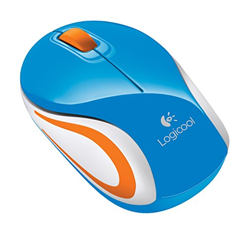 Logicool ロジクール ワイヤレス ミニマウス ブルー M187BL