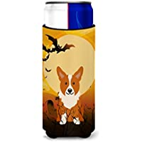 Caroline 's Treasures bb4366mukハロウィンCorgi Michelob Ultra Hugger Forスリム缶、マルチカラー