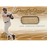 ホセ・カンセコ Jose Canseco 2001 SP Game Bat Piece of the Game Bat (MLBカード)