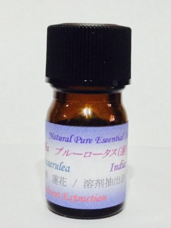 昆虫を見る規則性軽くブルーロータスAbs (アブソリュード) 天然精油 10ml 100%ピュアエッセンシャルオイル 天然アロマ