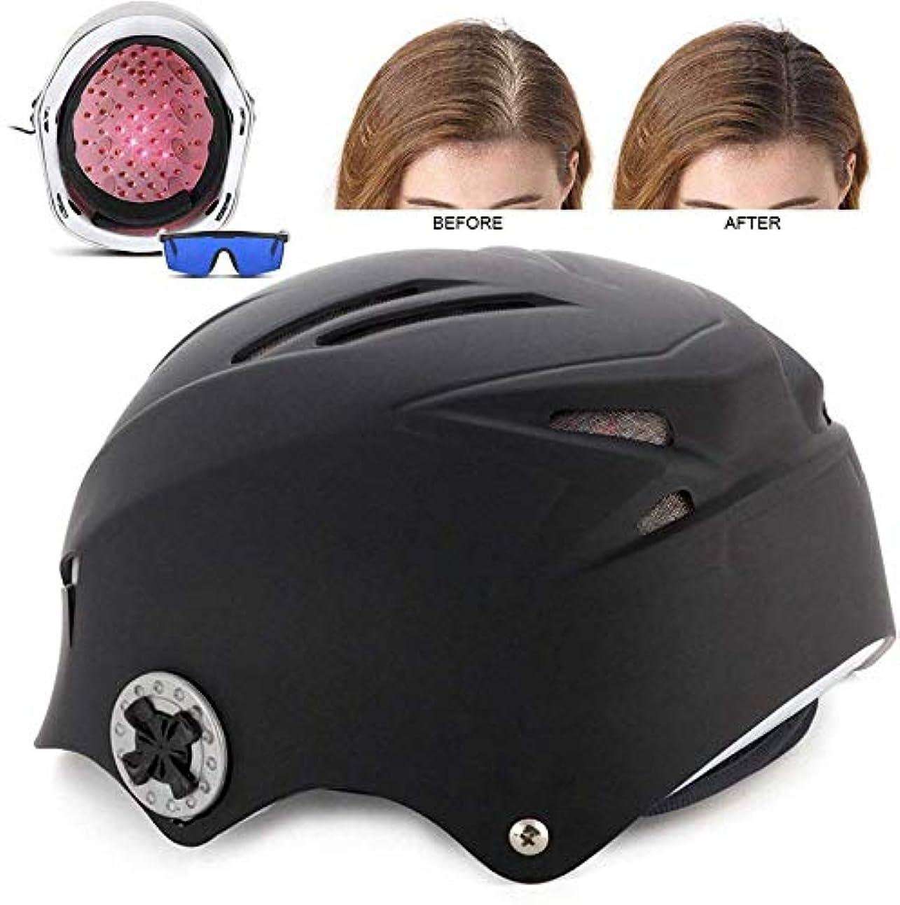 国家信じる方向育毛ヘルメット、64ダイオードメディカルグレードの髪の再成長キャップ、抜け毛の問題を解決するための発毛、赤外線治療髪の成長を促進ハット