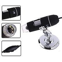 winnereco USBデジタル顕微鏡内視鏡カメラ2MP 800x 8LED拡大鏡