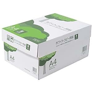 ホワイトコピー用紙 A4 500枚x10冊/箱  高白色