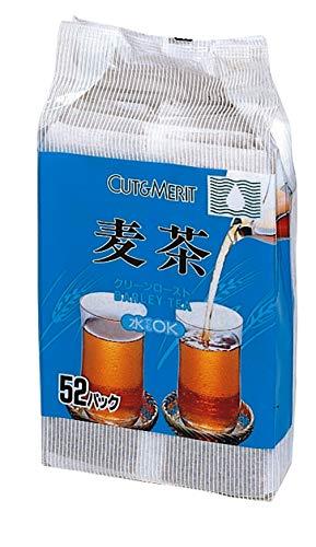 OSK カット&メリット 麦茶 52包入