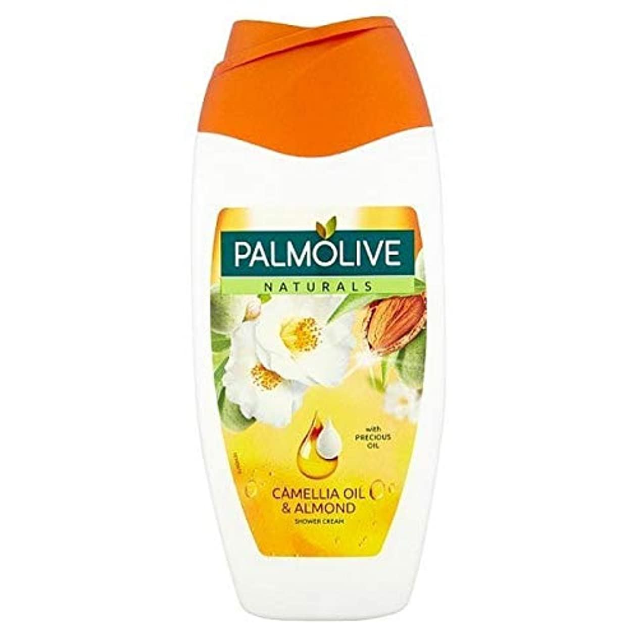 水差し教養がある流す[Palmolive ] パルモナチュラル椿油&アーモンドシャワージェル250ミリリットル - Palmolive Naturals Camellia Oil & Almond Shower Gel 250ml [並行輸入品]