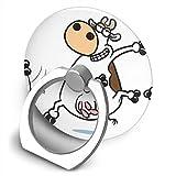 HHTCZ スマホリング ホールドリング 薄型 落下防止 携帯リング スタンド ブレイクダンス牛 バンカーリング 360°回転 指リング 強吸着力 IPhone/iPad/Galaxy/Xperia/スマートフォン・タブレット 全機種対応