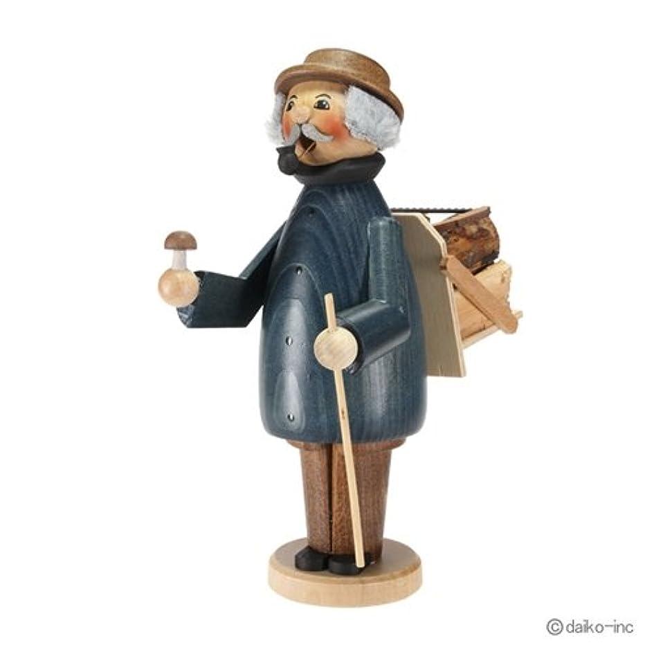素晴らしいです勇敢な気味の悪いクーネルト kuhnert ミニパイプ人形香炉 薪拾い