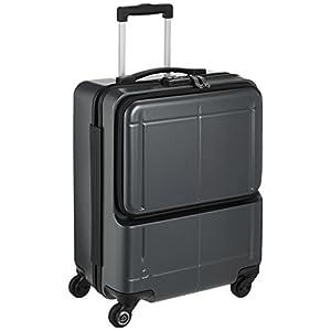 [プロテカ] スーツケース 日本製 マックスパスH2s サイレントキャスター 機内持込可 保証付 40.0L 46cm 3.3kg 02761 02 ガンメタリック