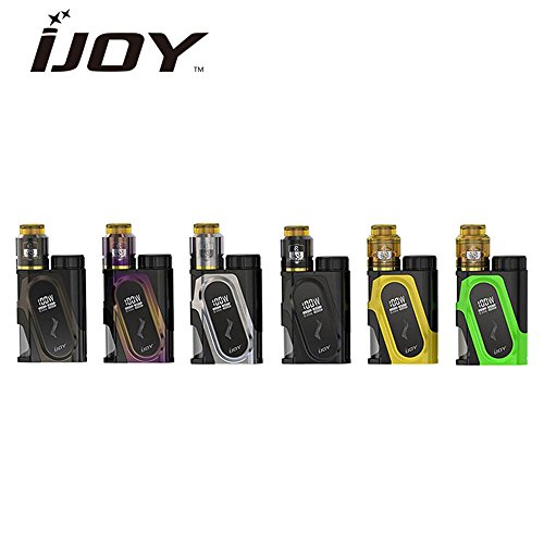 IJOY CAPO Squonker KIT 20700バッテリー付き 100W BF MOD COMBO RDAセット 電子タバコ VAPE (ガンメタ)