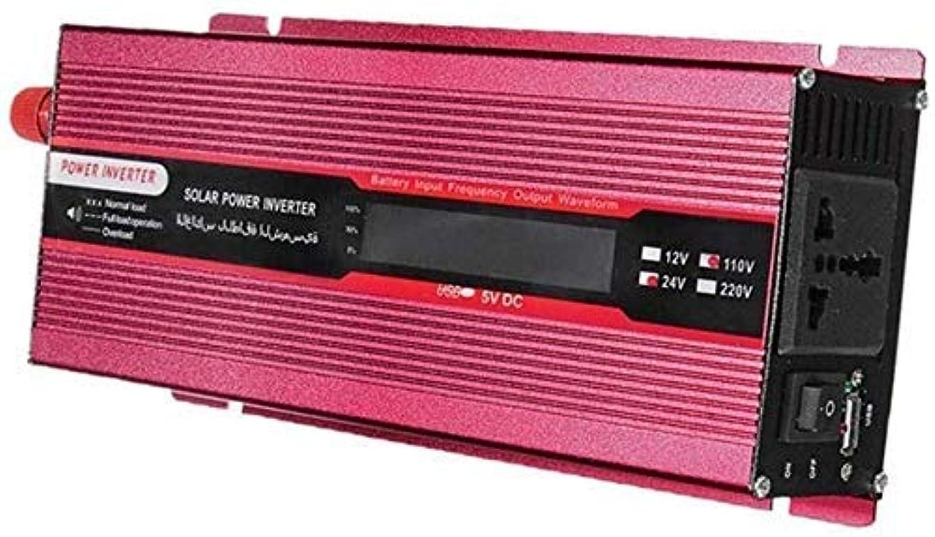 シンプルな存在する有罪カーコンバーターチャージャーアダプター950WソーラーパワーインバーターDC 24Vから110V ACカーコンバーターRVトラックカーホーム用のカーコンバーター