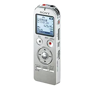 SONY ステレオICレコーダー FMチューナー付 4GB シルバー ICD-UX533F/S