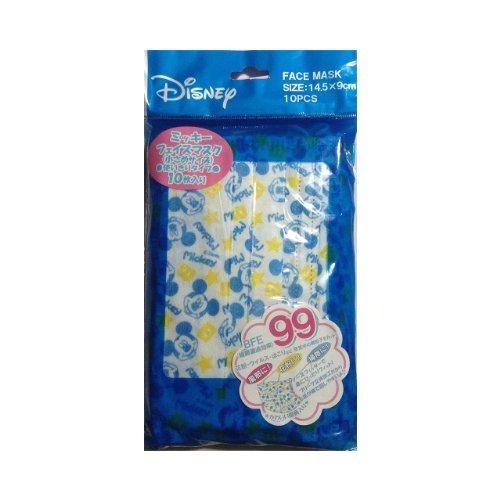ディズニー Disney ミッキー フェイスマスク (10枚入り)