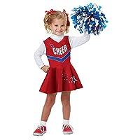 California Costumes Classic Cheerleader Costume, One Color, 3-4 [並行輸入品]