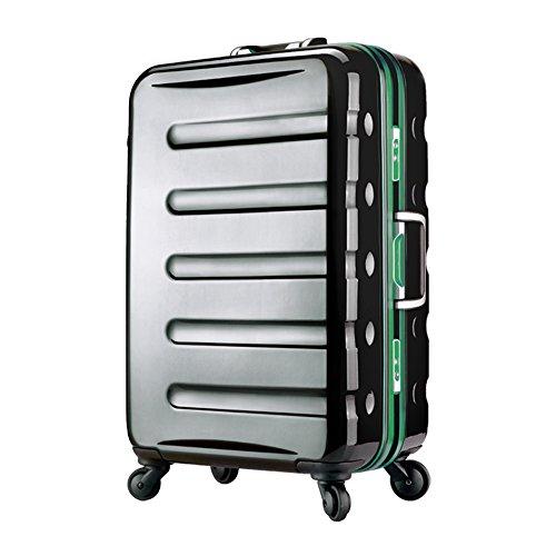 スーツケース アルミフレーム 鏡面ボディ TSAロック 軽量 機内持込サイズ