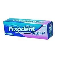 Fixodent Denture Adhesives Cream, Original - 0.75 Oz by Fixodent