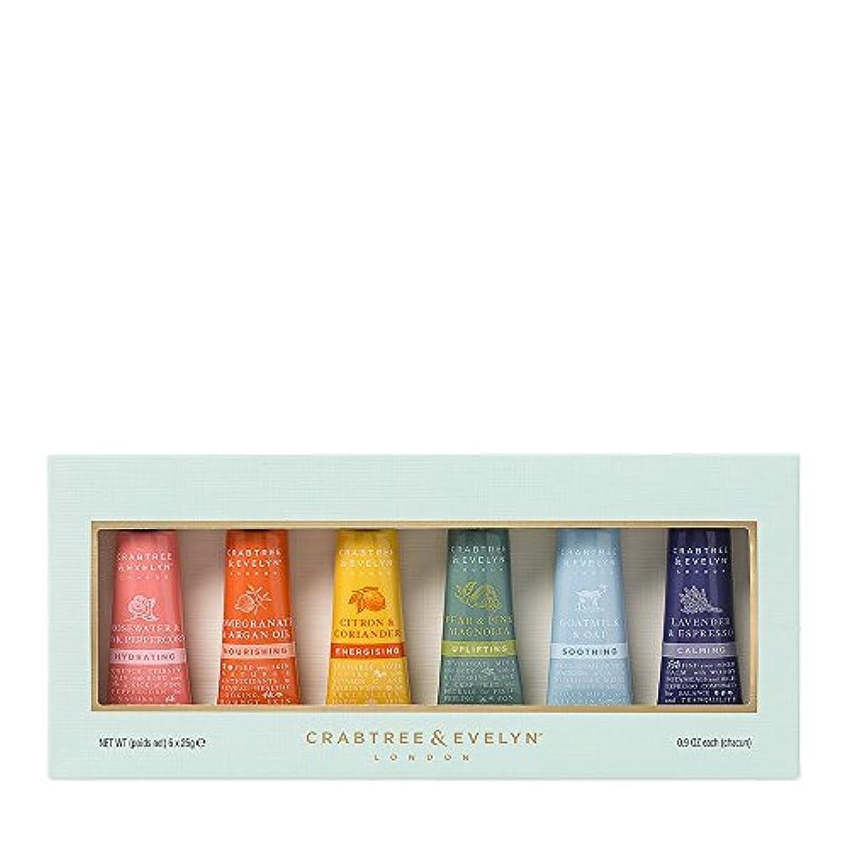 支払うワイプ安全でないクラブツリー&イヴリン Limited Edition Hand Therapy Gift Set 6x25ml/0.86oz並行輸入品