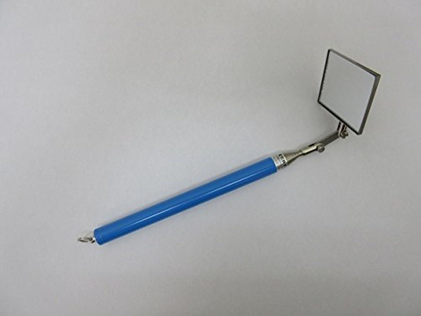 入学する仮定、想定。推測気を散らす九重電気 九重検針ミラー拡大鏡 R 青 80606-0014