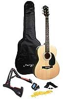 Martin Smith マーティンスミス フルサイズアコースティックギターパッケージ (ナチュラル) W-101-N-PK