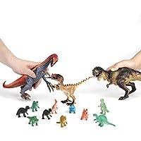 Yosoo ソフトビニール 恐竜 おもちゃ 可愛い動物のフィギュア 子供玩具