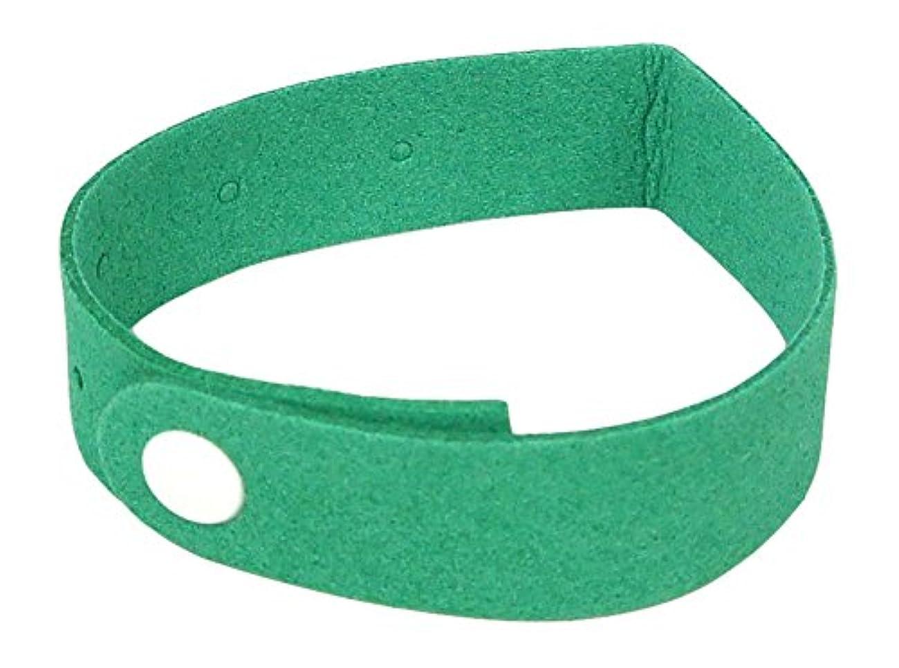 多年生株式スワップNo Brand 虫よけリング 子供?大人兼用サイズ 緑 MB-G 緑