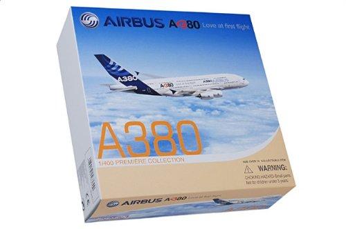 """1:400 ドラゴンモデルズ 56369 エアバス A380-800 ダイキャスト モデル エアバス インダストリ """"Love at first flight""""【並行輸入品】"""
