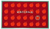 コンドル ホップマット りんごがいっぱい 【玄関マット】 #6 60×90cm 126835